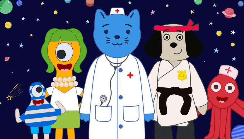 Space Doctor Cat on Key Platforms